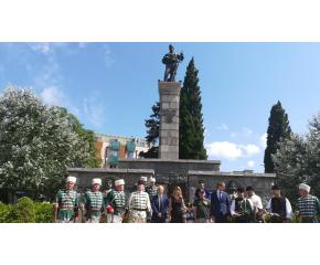 Сливен отбеляза 183 години от рождението на Левски и 152 години от гибелта на Хаджи Димитър (снимки)