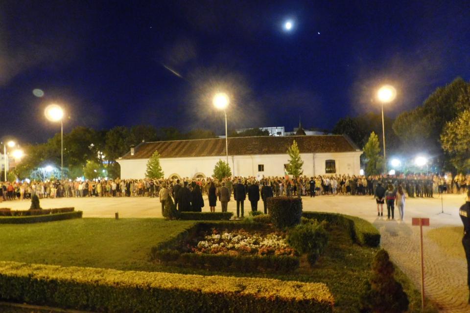 С тържествена церемония Община Сливен отбеляза 134 години от Съединението на Княжество...