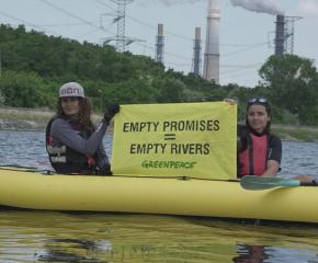 Според екоактивисти водните ресурси в Източномаришкия речен басейн са застрашени
