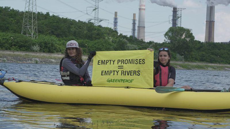 """В доклад на природозащитници от """"Грийнпийс"""" и нидерландски учени се предупреждава, че водните ресурси в Източномаришкия речен басейн са застрашени заради..."""