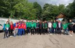 Спортисти преминават по пътя на Ботев от Козлодуй до Околчица