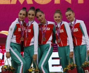 Сребро за ансамбъла по художествена гимнастика на Световното в Баку