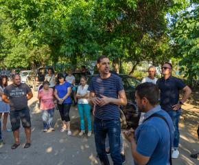 """Среща на кмета на Ямбол и неговия екип с граждани от жилищен квартал """"Диана"""""""
