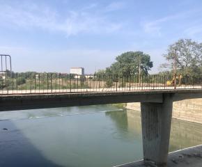 Стартира ремонтът на разделителнoто съоръжение на река Тунджа, чиито води ще бъдат отклонени по бетонираното корито