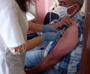 Стартира ваксинацията на трудно-подвижните лица в община Тунджа