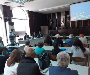 Стефан Радев: Основната ни цел е да достигнем 100 % изпълнение на общинския бюджет