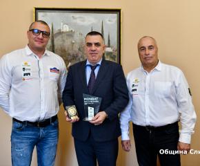 Стефан Радев получи плакет за приноса му в развитието на автомобилния спорт в Сливен