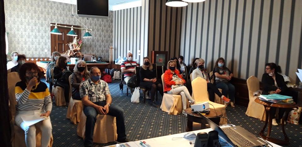 """На 15 и 16 май 2021 година в град Поморие се проведе изнесено обучение на тема: """"СТЕМ обучение в мултикултурна среда"""" за педагогическите специалисти от..."""