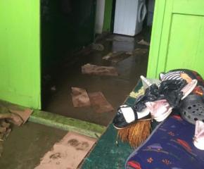 Свлачища и наводнени къщи в Златарица, Горско Ново и Росно