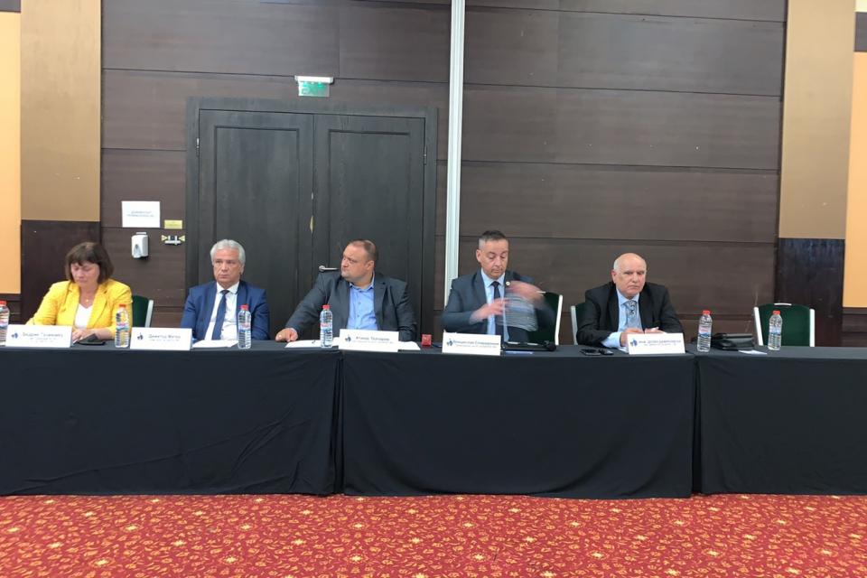 Председателят на Общински съвет-Сливен Димитър Митев участва в Общото събрание на Националната асоциация на председателите на общински съвети в България...