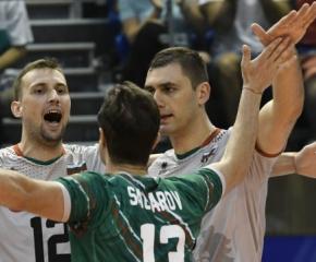 Трета победа за България на Евроволей, класира се за следващата фаза