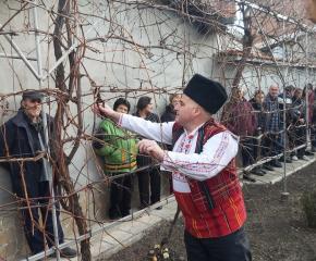 Трифон Зарезан в най-стария квартал на Ямбол