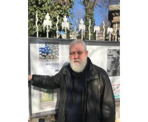 Цветан Казанджиев с юбилейна изложба в Министерството на културата