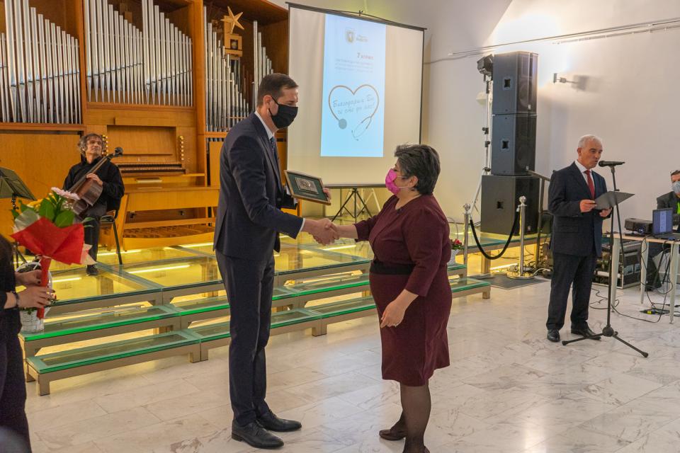 В навечерието на Световния ден на здравето и професионален празник на здравните работници - 7 април, бяха раздадени традиционните награди по Правилника...