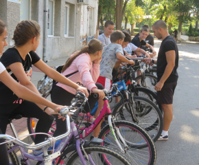 Ученически велопоход за празника на Болярово
