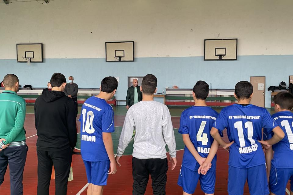 Общинският етап от провеждането на Ученическите спортни игри за 2021-2022 година в Ямбол започна днес в 13:00 часа със срещи по футбол във физкултурния...