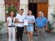 Ученици дариха пари, събрани в първия учебен ден за ремонт на храм