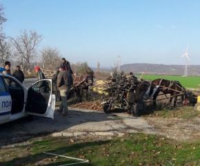 Удариха автомобил на горските при проверка край Стралджа