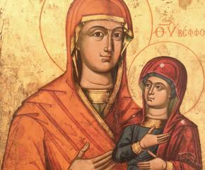 Уникална икона на света Анна съхранява ямболската галерия