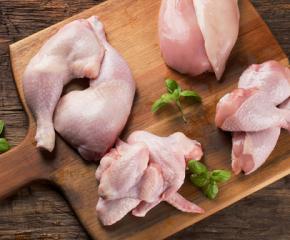 Унищожават близо 10 тона внос на пилешко месо заразено със салмунела