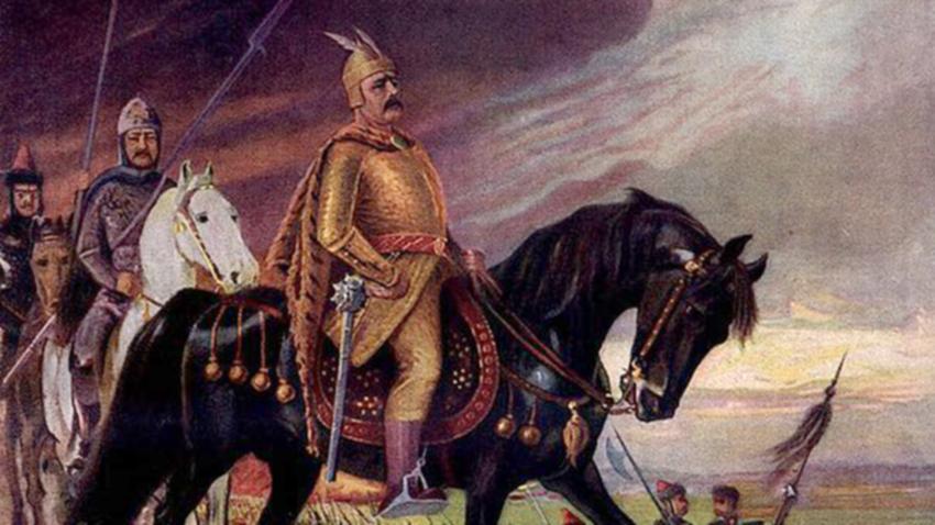 През юли 813г. български войски, начело с хан Крум, обсаждат Константинопол. Уплашени жители на града, наблюдават от крепостните стени, как българският...
