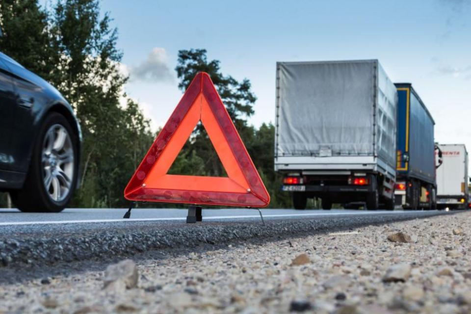 """Временно е спряно движението по автомагистрала """"Марица"""" при отбивката за Свиленград в посока Турция, съобщиха от пресцентъра на МВР.Причината е верижна..."""