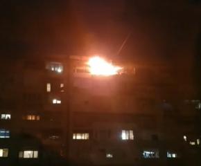 Версия: Пожарът в Ямбол е тръгнал от печка на твърдо гориво
