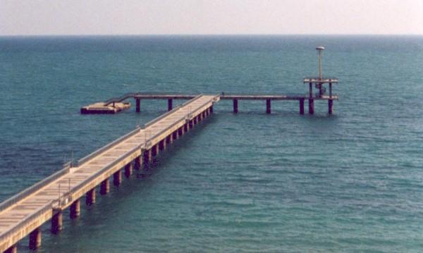 """Водолази от сдружението """"Приятели на морето"""" почистват днес морското дъно край моста, предава БНР. Целта е да се извадят колкото се може повече отпадъци..."""