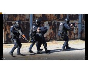 Военната полиция в Сливен направи демонстрация за обезвреждане на атентатор