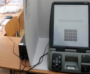 Всички машини за предстоящите парламентарни избори са на лице