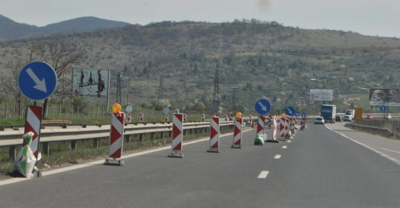 """На 24 юни по магистрала """"Тракия"""" от 8:30 ч. до 16 ч., движението от 65-ти км до 68-ми км в района на област Пазарджик в посока София ще е в една лента...."""