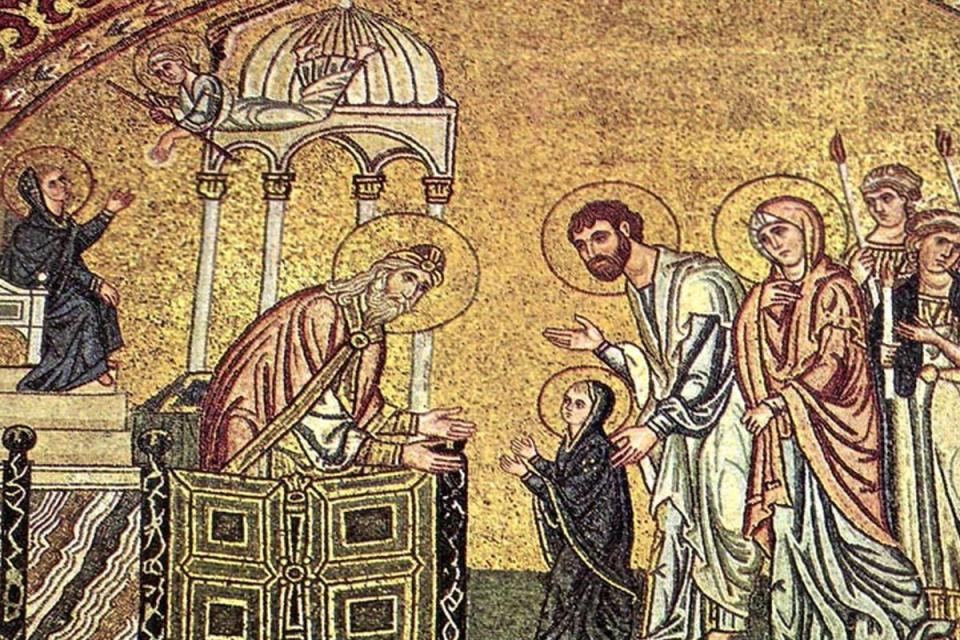 """Християните отбелязват днес църковния празник Въведение Богородично - един от великите вселенски празници, който в църковните песнопения се назовава """"Предвестник..."""