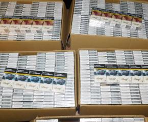 Ямболската полиция иззе над 76 000 къса безакцизни цигари