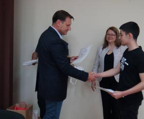 Ямболски ученици с награди от европейска олимпиада