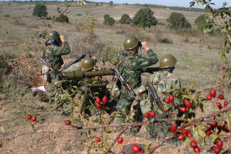 Самоходните минохвъргачни батареи на 42-и механизиран батальон – Ямбол и на 31-и механизиран батальон – Хасково, противотанковата батарея на щабния батальон...