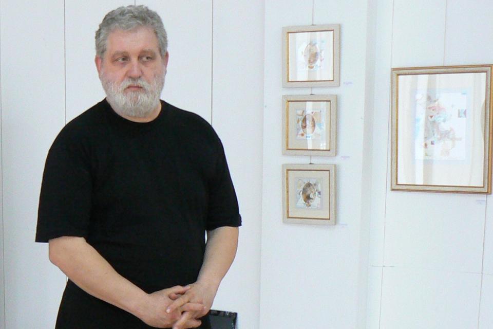 """На 24-ти юни (сряда) от 18:00 ч. галерия """"Видима"""" в Севлиево ще представи изложбата """"Фрагменти""""(живопис, рисунка, графика) на ямболския художник Цветан..."""