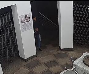 За часове установиха вандала, потрошил решетка на Ротондата на Минералната баня