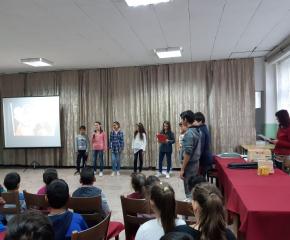 За жените-будителки разказва табло в боляровската гимназия