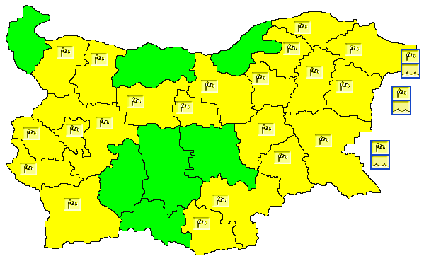 В 6 часа и 19 минути тази сутрин в България започна астрономическата зима, че и с характер. НИМХ издаде предупреждение от първа степен (жълт код) за опастност...