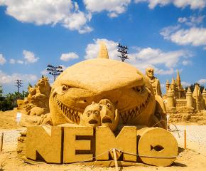 Започна фестивалът на пясъчните фигури в Бургас