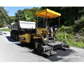Започна ремонтът на пътя до Карандила