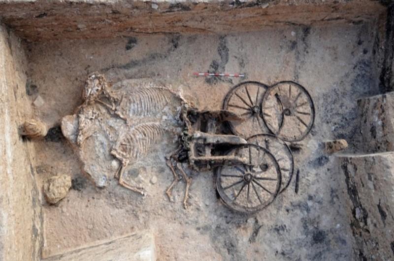 Започнали са ремонтни дейности на покритието на Източната могила край новозагорското село Караново. Това съобщи пред БТА кметът на селото Николина...
