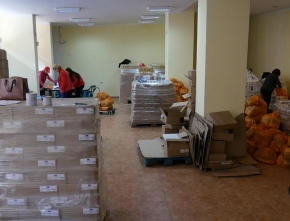 Започва раздаването на хранителни продукти по оперативната програма на ЕС