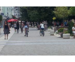 Засилени проверки за преминаване с велосипеди по главната улица на Сливен