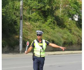 """Засилено полицейско присъствие по главните пътища и автомагистрала """"Тракия"""""""