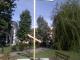 """Завърши облагородяването около новоиздигнатия шестметров железен кръст пред църквата """"Св. Георги"""" в Ямбол"""