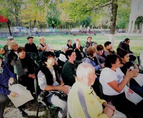Жителите на с. Савино се срещнаха с кандидатът за кмет на Тунджа Георги Георгиев