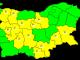 Жълт код за силен вятър в Ямбол и още 12 области в страната