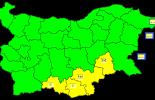 Жълт код за Ямбол и още 3 области е обявен за 2 април
