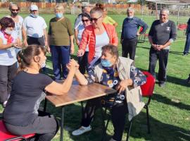 Първа пенсионерска Спартакиада в Тунджа